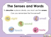 Using the Senses (KS1 Poetry Unit) Teaching Resources (slide 22/59)